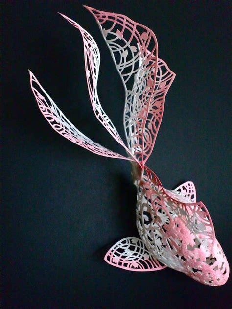 4 dementinal cuts 3 dimensional cut paper art by naofumi hana paper