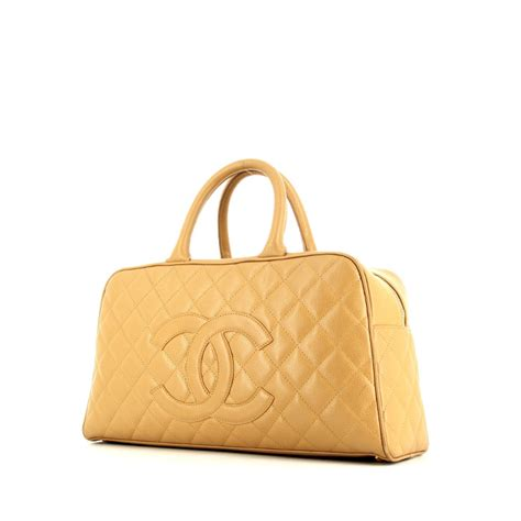 Chopard Square Mrt Leather Beige chanel boston handbag 323771 collector square