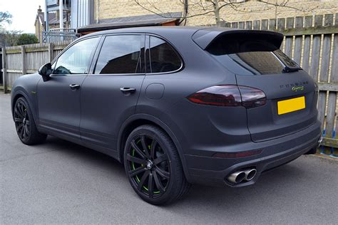 porsche cayenne matte black automotive vinyl wrap 2017 2018 best cars reviews