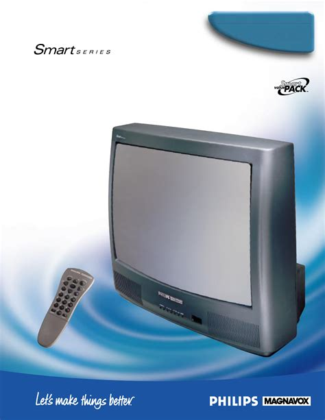 Philips Crt Television 25tr15c User Guide Manualsonline Com