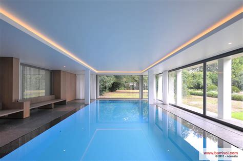 Pool Design Piscine Le Plafond Tendu Barrisol Dans Votre Piscine