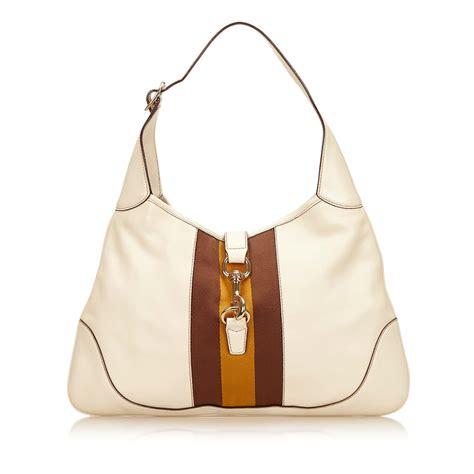 Tas Saling Bags Wanita Gucii Jacky 1 white leather gucci handbag vestiaire collective