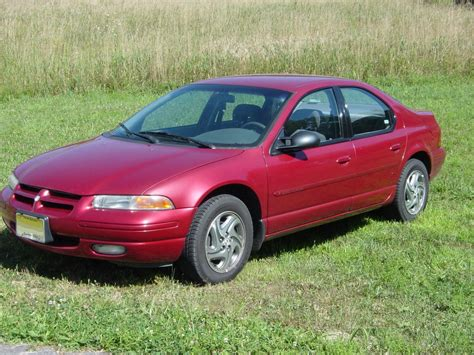 books on how cars work 1998 dodge stratus file 1996 dodge stratus es jpg wikimedia commons