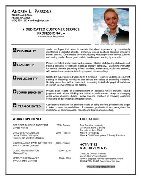 Job Interview Resume Pdf by Air Hostess Resume