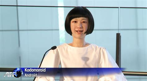 japanese android japanese scientists reveal the android newscaster in tokyo