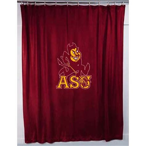 locker curtains arizona state sun devils locker room shower curtain