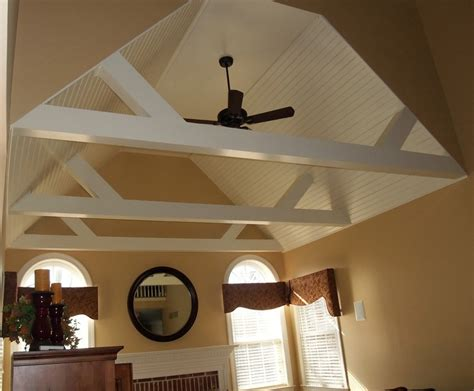 vaulted ceiling beams interior coolness pinterest