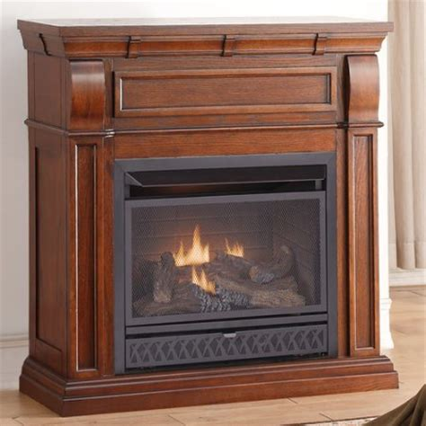 procom gas fireplaces procom dual fuel vent free gas fireplace 26 000 btu t