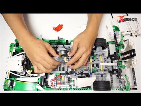 lego technic 42039 rc motorized race car instruction video