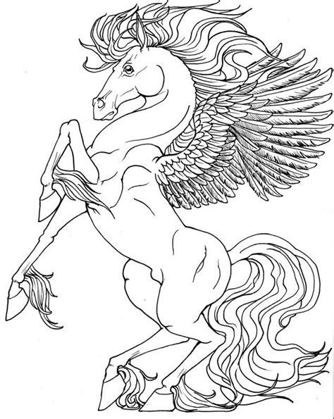 pegasus unicorn coloring pages  catholic school