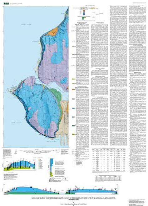 seattle geologic map geologic map of northwestern seattle part of the seattle