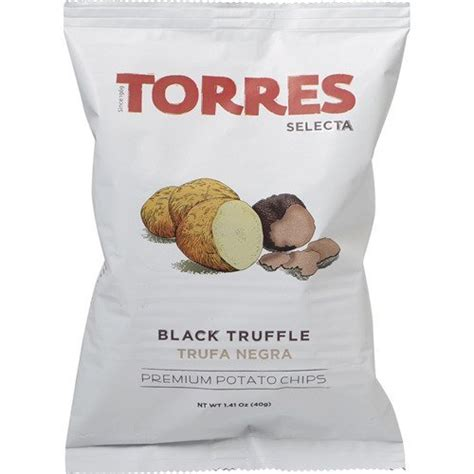 Torres Olive Potato Chip 50g Keripik Kentang patatas fritas torres black truffle premium potato chips big bag 1 x 4 41 ounce