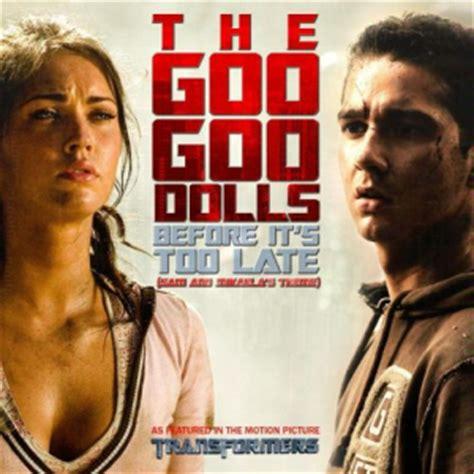 iris goo goo dolls testo e traduzione goo goo dolls before it s late traduzione in