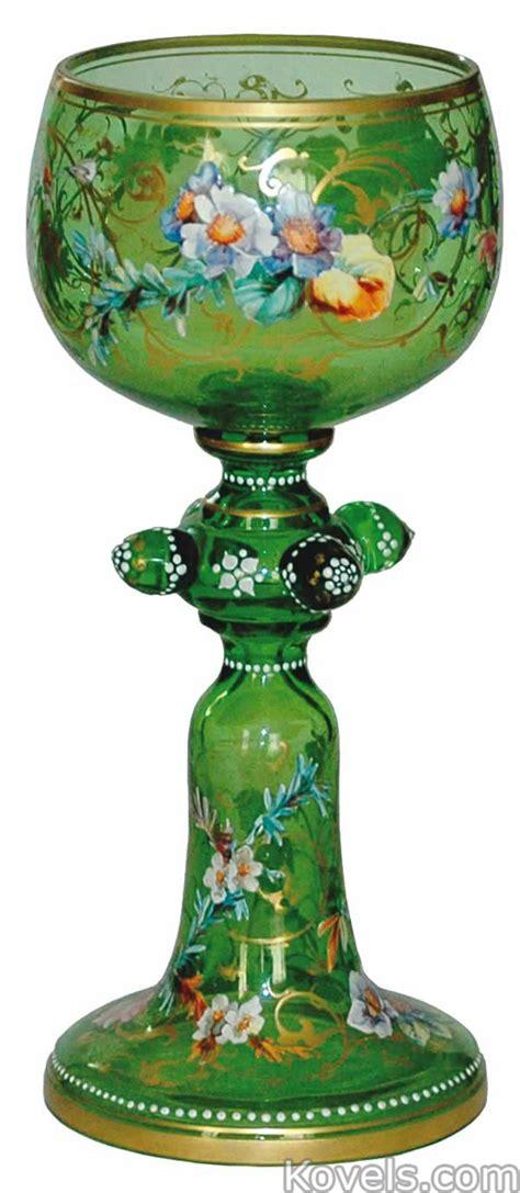 Hookah Vase Antique Glass Bohemian Glass Price Guide Antiques