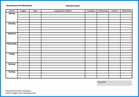 Best Tigungsschreiben Mindestlohn Muster Stundenzettel Excel Vorlage Vorlagenhero