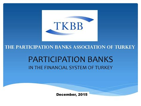 banks in turkey participation banks in the financial system of turkey