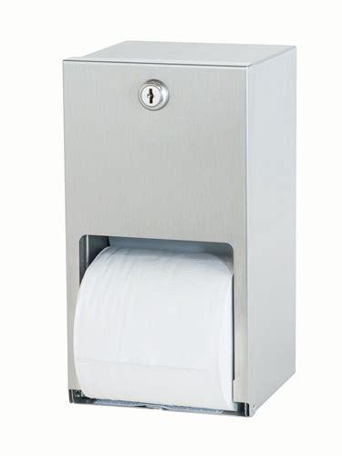 dual roll toilet tissue dispenser bradley 5402 dual roll toilet tissue dispenser