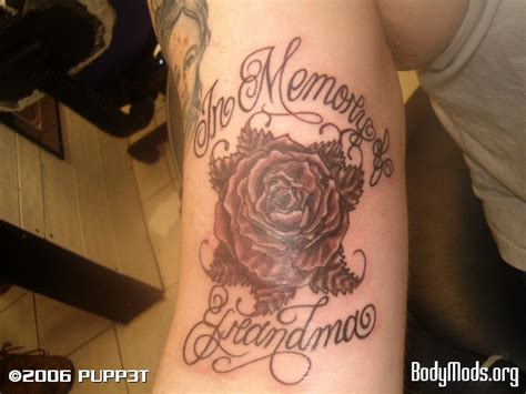 in memory of grandma amp a rose body mods org