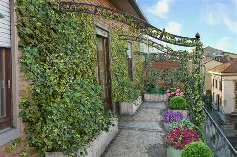 terrazzo verde verde progetto il balcone fiorito