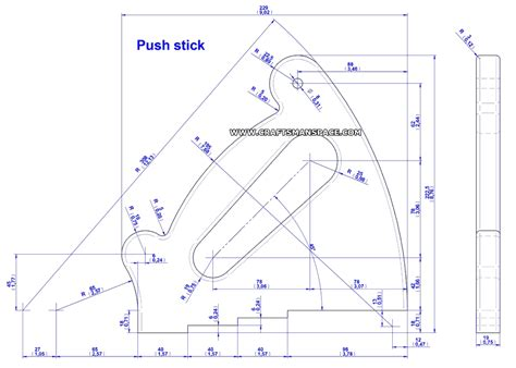 push stick and push block plans