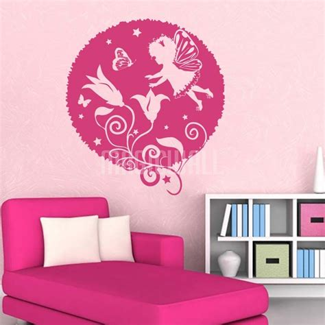pattern wall decals wall decals magic fairy little girl bubbles wall