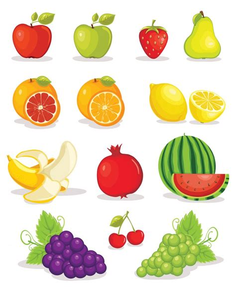 7 Uses For Fruit by Vector Fruit Clipart Best