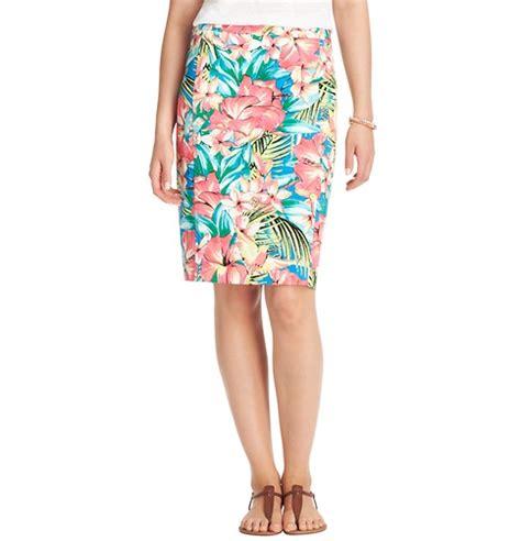 Buy Loft Gift Card - tropical floral pencil skirt loft