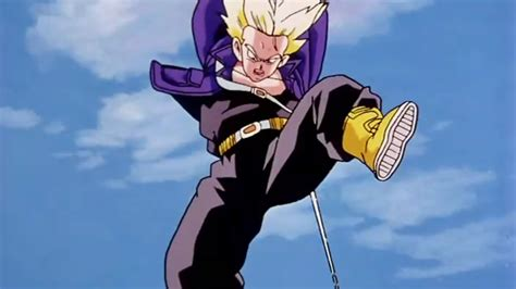dragon ball z trunks iphone wallpaper man at arms forges future trunks sword from dragon ball z
