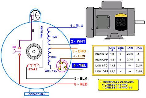 conexion capacitor motor monofasico conexion capacitor motor monofasico 28 images coparoman terminales motor monof 225 sico de