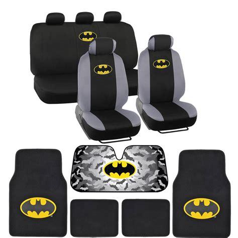 Batman Car Mats by Batman Seat Covers Floor Mats Auto Shade For Car Suv