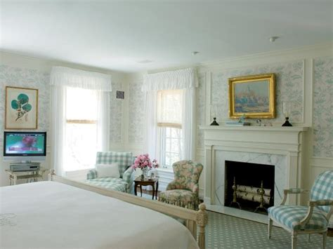 french country bedroom  marble fireplace hgtv