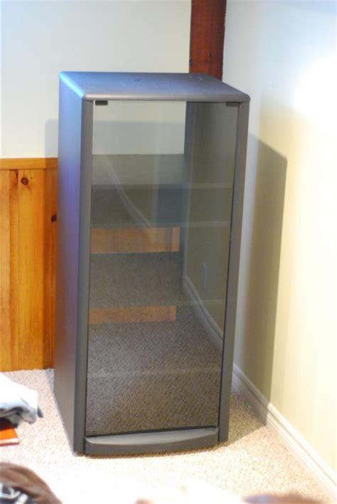 tech craft sf50 av stand cabinet shelf 5 shelves glass