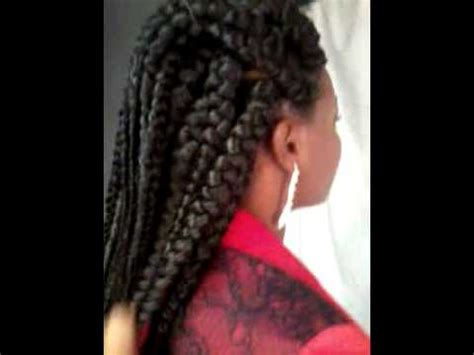 jumbo braids patra style, by omeece at glam zone youtube