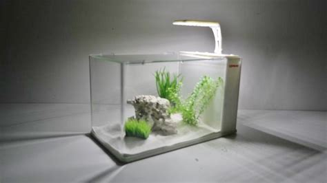 Lu Led Aquarium Mini nano aquarium complete aquarium mini aquarium filter