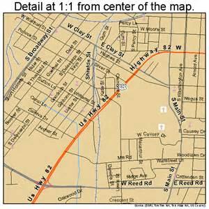greenville mississippi map 2829180