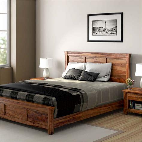 rustic platform bed fantastic rustic platform bed med art home design posters