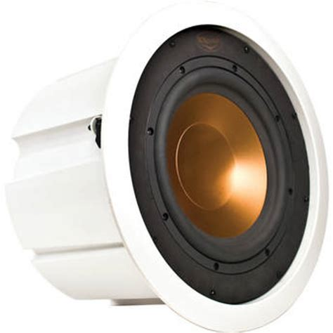 In Ceiling Powered Subwoofer by Klipsch Rw 5101 C In Ceiling Subwoofer White Rw 5101 C B H