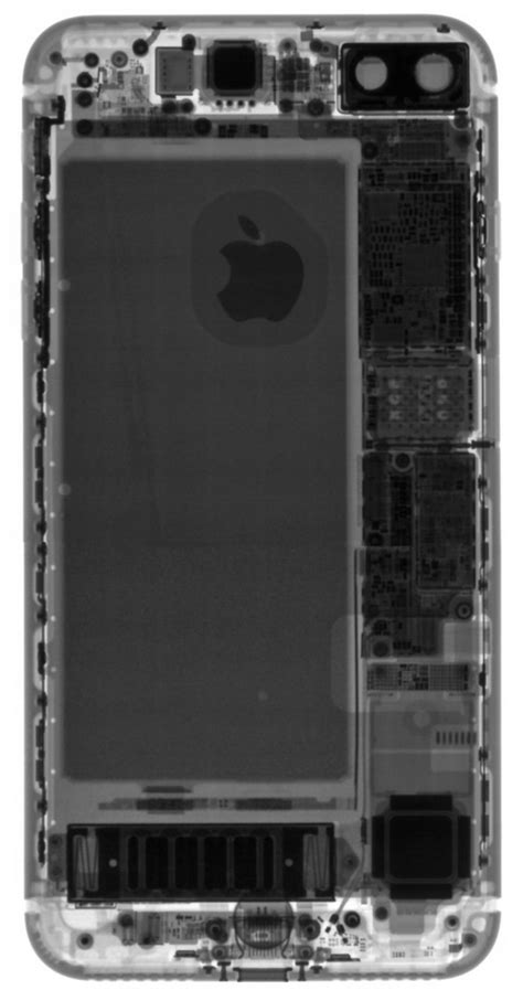 iphone 7 plus teardown 3gb of ram faux speaker grille bigger battery more