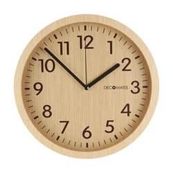 Wooden Clocks Modern Wooden Silent Wall Clock Decomates