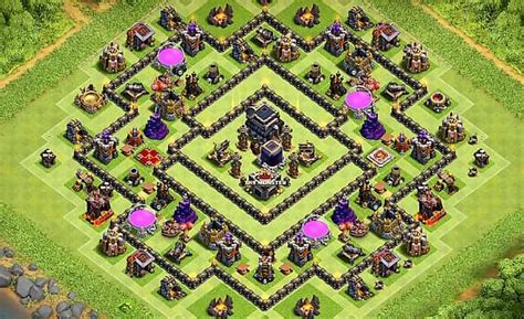 layout th9 home base top 10 best th9 farming base layouts 2018 anti