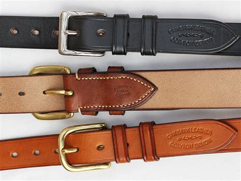 Handmade Belts Uk - quality handmade leather belts oak bark leather
