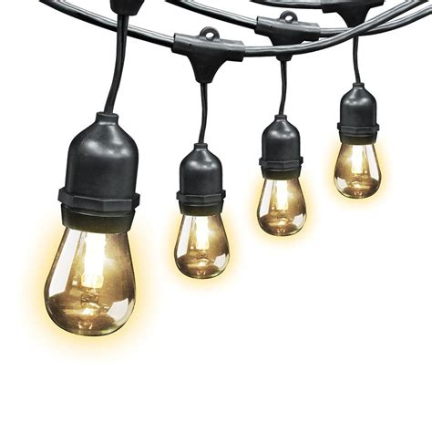 Electric Patio Lights 10 Light Clear Patio String To String Light Set 92887