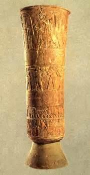 Uruk Vase by Uruk Akkad Iraq