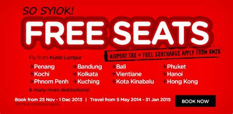 Promo Murah Sale Organizer Tas Treveler Free I Ring Sarung Tangan promosi airasia free seats untuk travel 2014 kembali lagi sato oreo