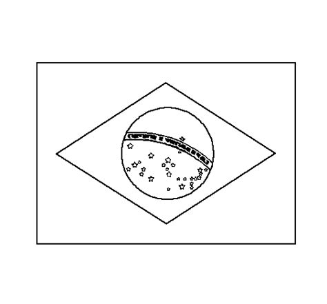 free coloring pages of flag of brazil