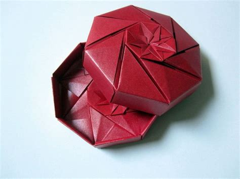 Origami Octagon Box - 234 best images about ars origami on origami