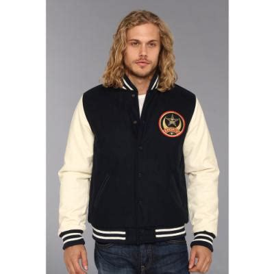 Obey Parka Ori Bekas obey cresent moon varsity jacket coat navy where to buy how to wear