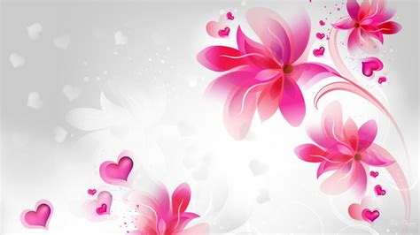 Home Design Wallpaper Download by Pink Abstract Flowers Wallpaper Wallpaper Studio 10
