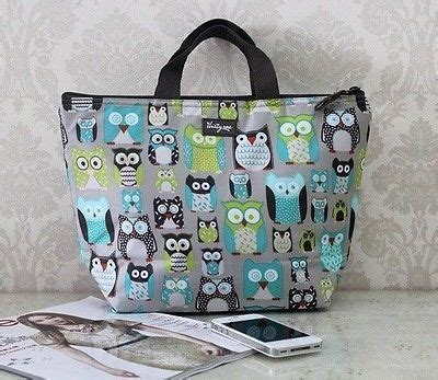 Thermal Bag Sling Owl 1 thirty one thermal picnic lunch tote bag 31 s a hoot