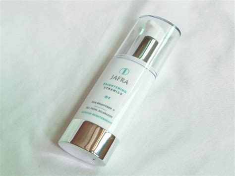 Serum Jafra currently testing jafra brightening range and